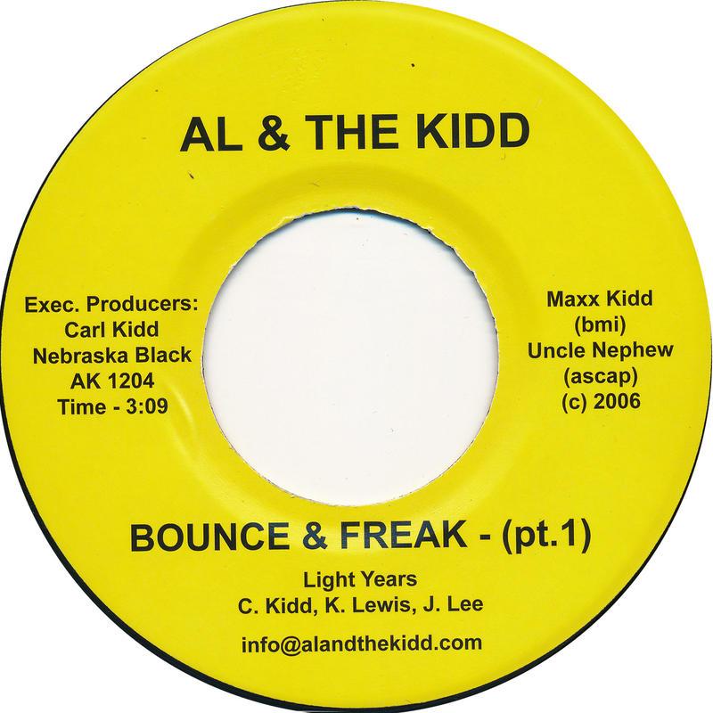 "[SG-044] (AK1204) Light Years - Bounce& Freak (With Me) Part 1&2 (7"" Vinyl)"