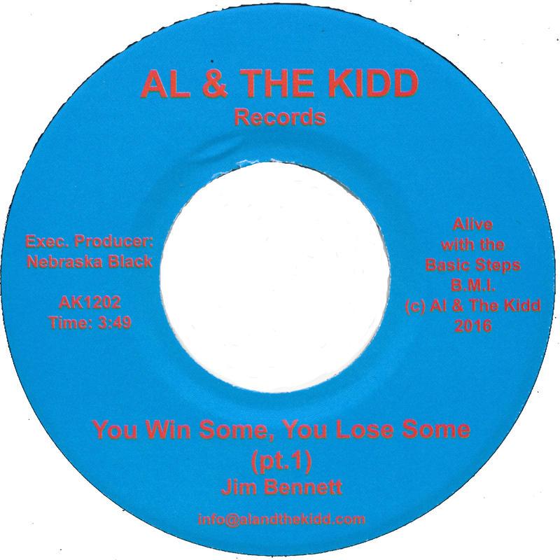 "[SG-043] (AK1202) Jim Bennett - You Win Some, You Lose Some Part 1&2 (7"" Vinyl)"