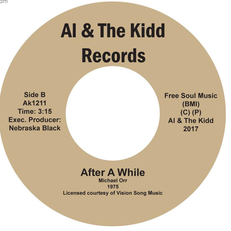 "{AK 1211]  Michael Orr - Wonder Woman (Super Lady) / Afterwhile  (7"" Vinyl)"