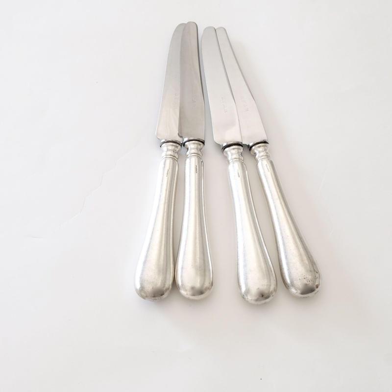 シルバーハンドルデザートナイフ   (DK18)   1本
