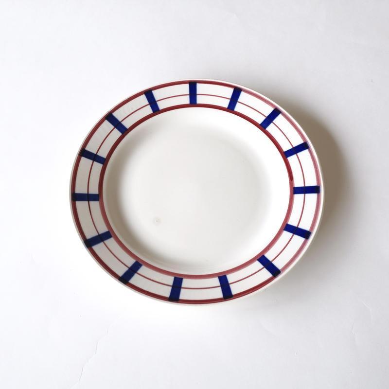 バスクスタイルのデザート皿  (PL43) 1枚