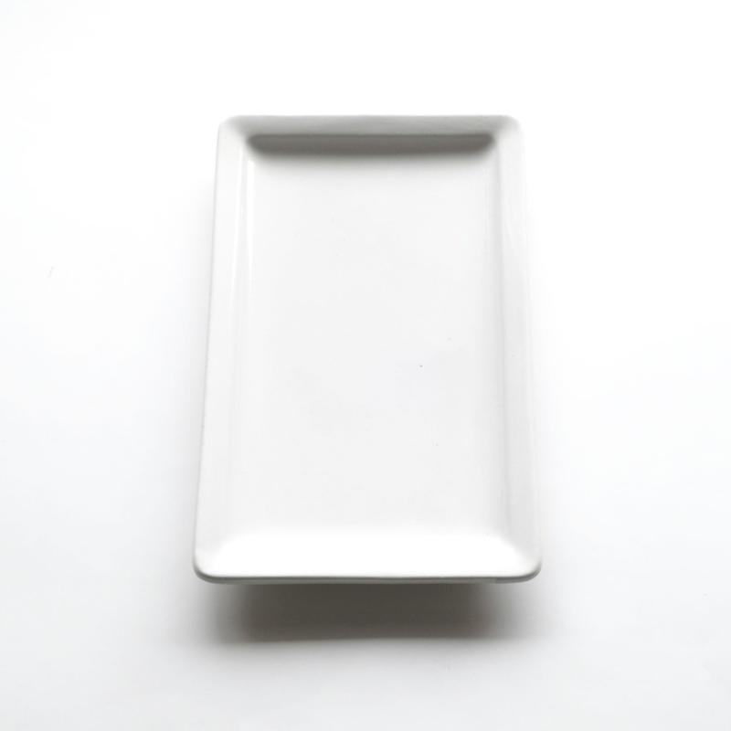 白い角皿ーC   (PL47)   1枚