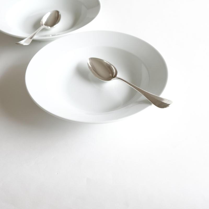 オリジナルスープ皿&デザートスプーン  (SET1)  1セット各1ピース