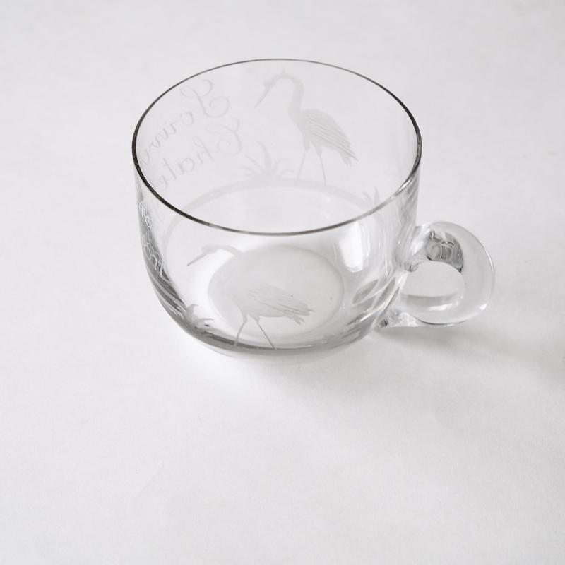 フランスの温泉カップ  3種   (GW22)  1個
