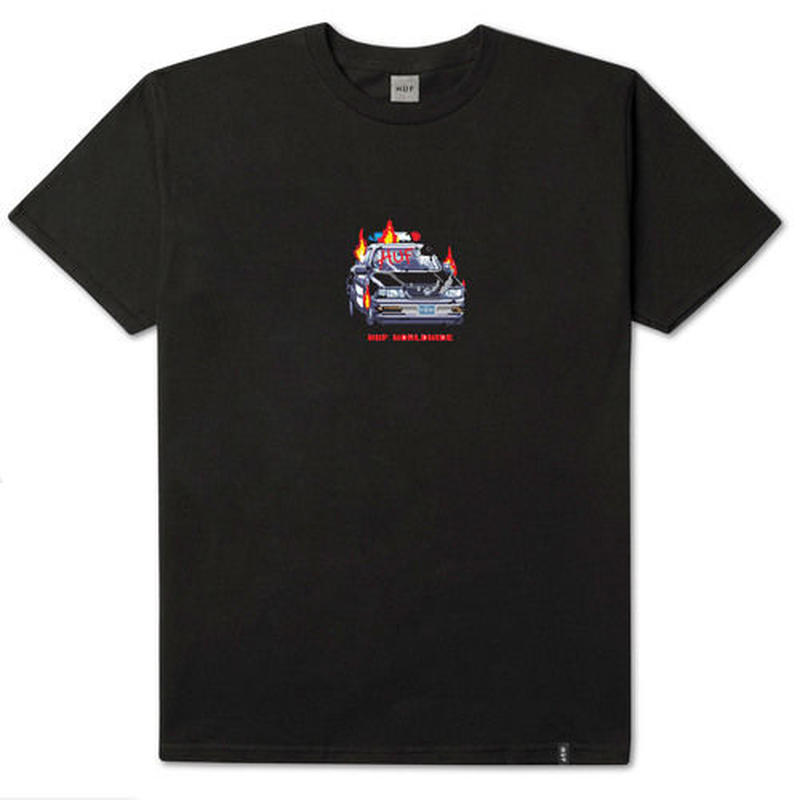 GAME OVER S/S TEE BLACK