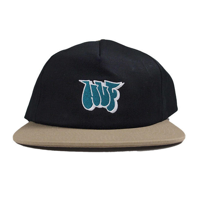 HUF  JONES NY STRAPBACK HAT  BLACK