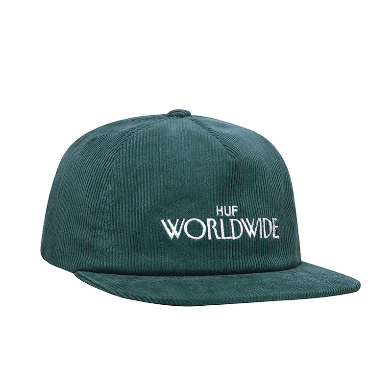 HUF ARCHIVE STRAPBACK HAT DEEP JUNGLE