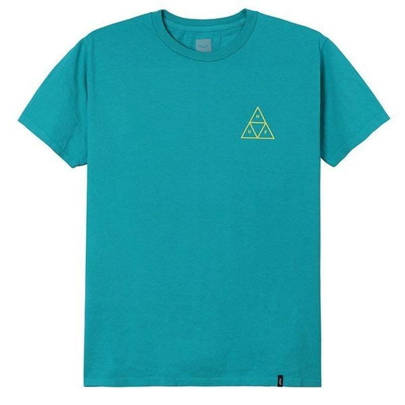 HIGH TIDE TRIANGLE S/S TEE  tropical green