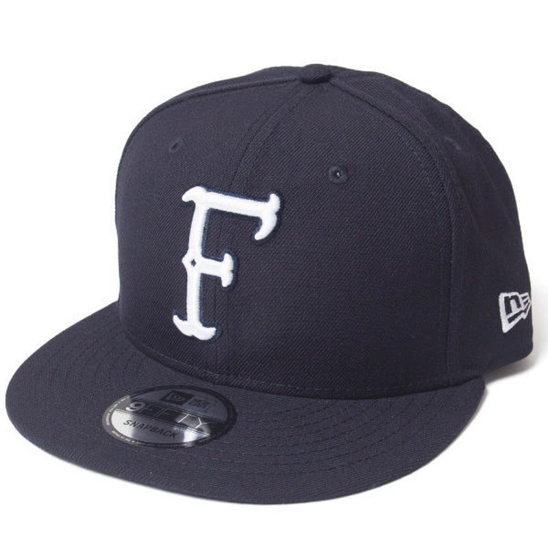 NF BONE FONT INITIAL SNAPBACK CAP