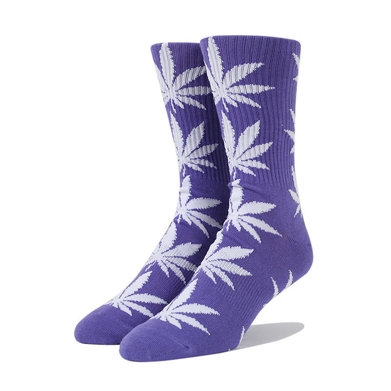 HUF PLANTLIFE SOCKS BLUE IRIS