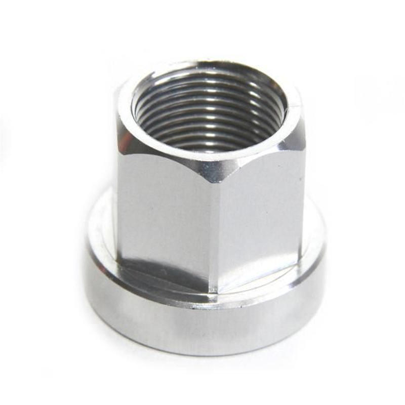BMX 17MM ALUMINUM COLOR NUT