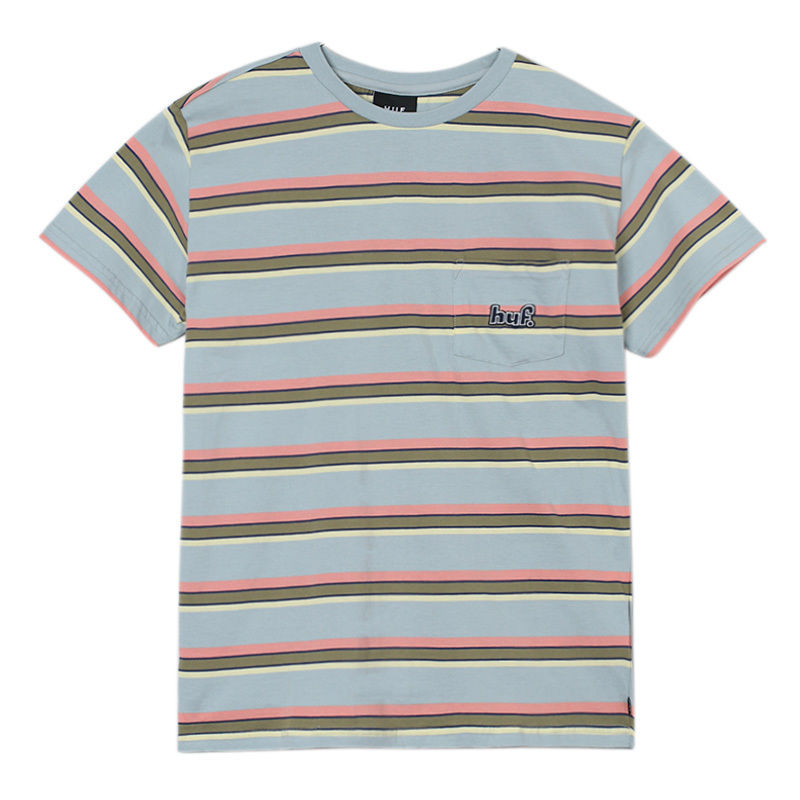 1993 STRIPE S/S KNIT BALLAD BLUE