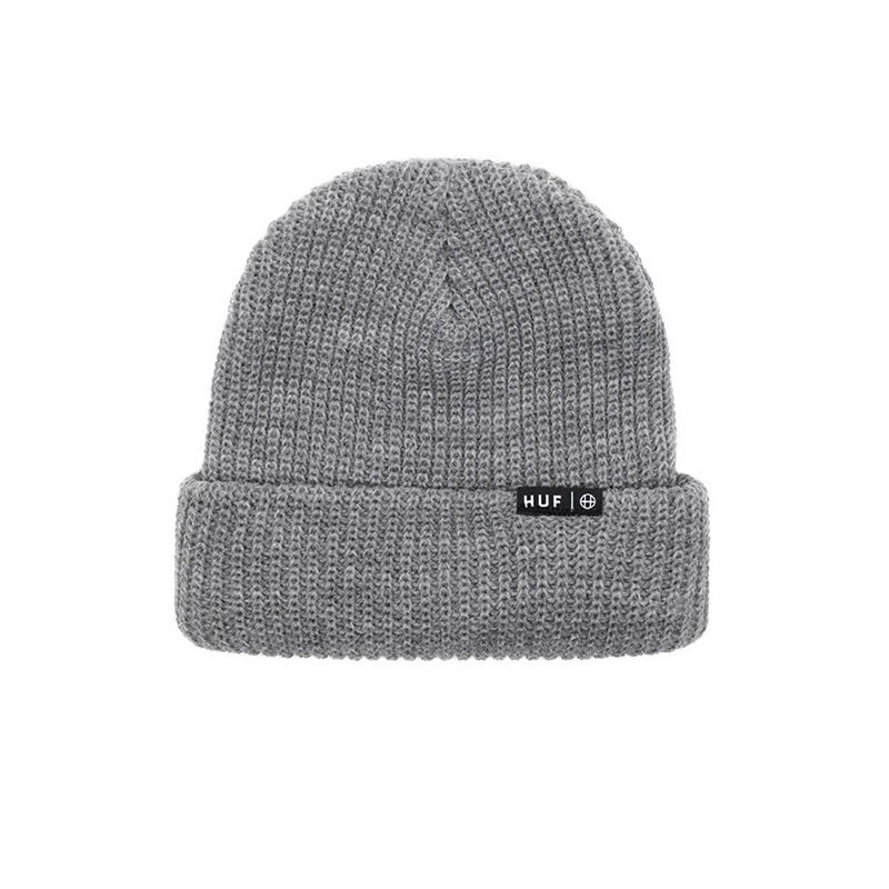 USUAL BEANIE GREY HEATHER