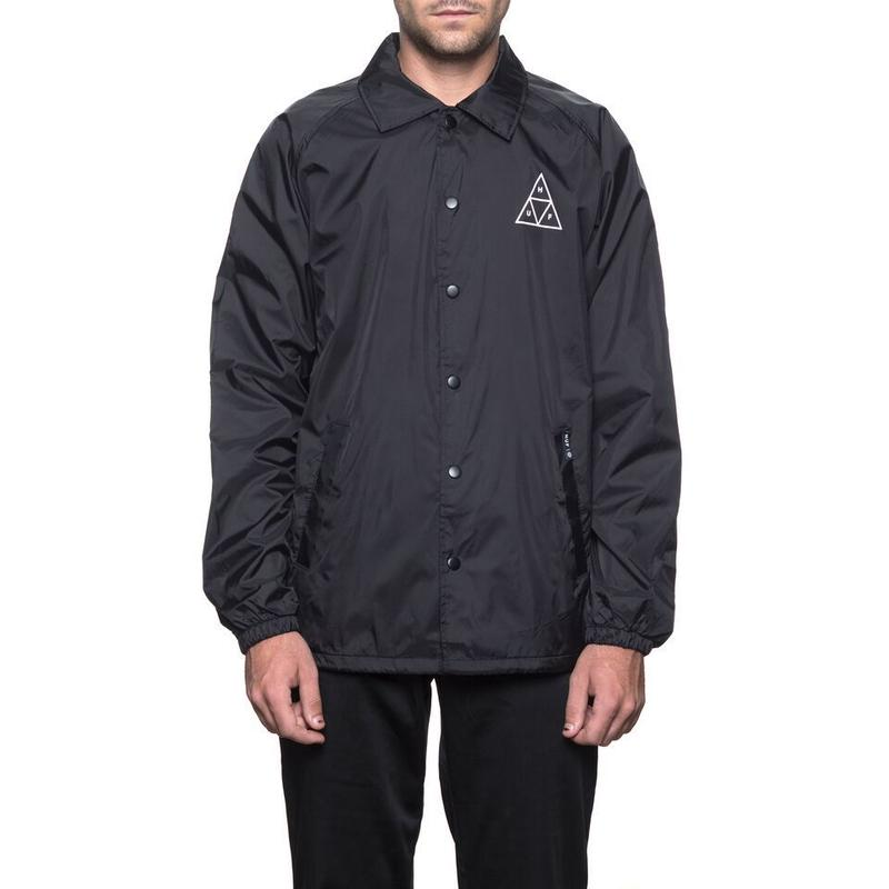TRIPLE TRIANGLE COACHS JACKET BLACK (M)