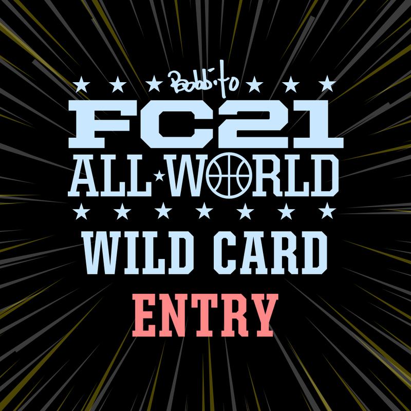 FC21 2019 WildCard 予選参戦権 & オリジナルユニフォーム