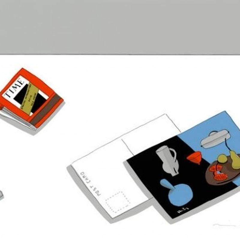 安西水丸「マチスのカード」