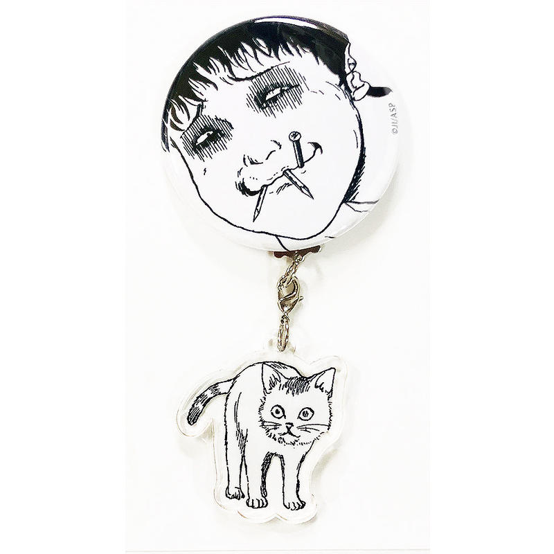 Acrylic Key-holder & Can-badge