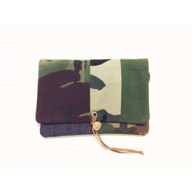 REMADE Clutch Bag CAMO 《クラッチバッグ Sサイズ 》
