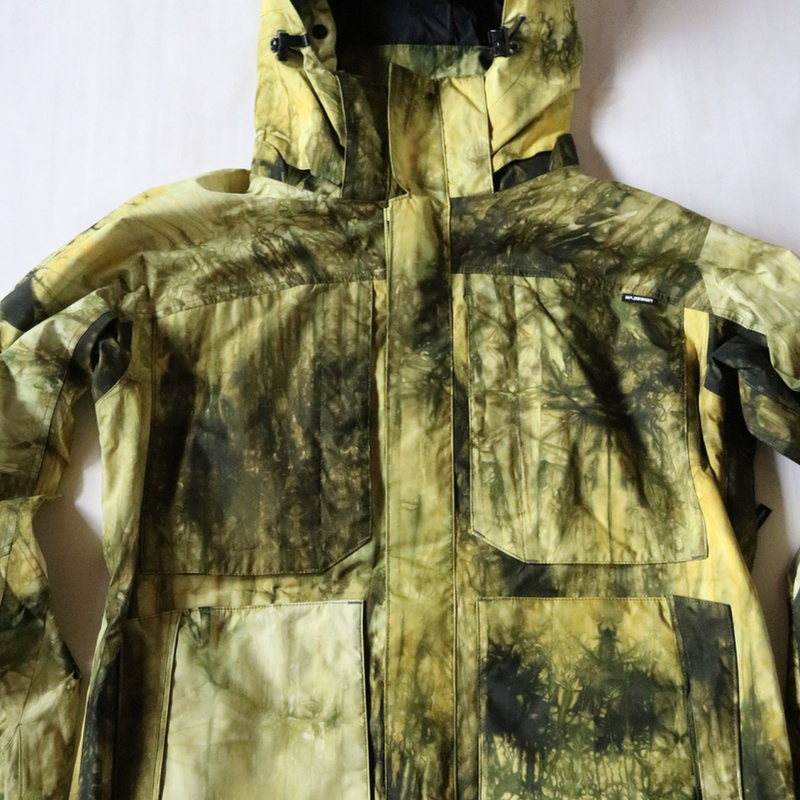GORE-TEX®️絞り染めジャケット《TYPE-2 フード脱着式》