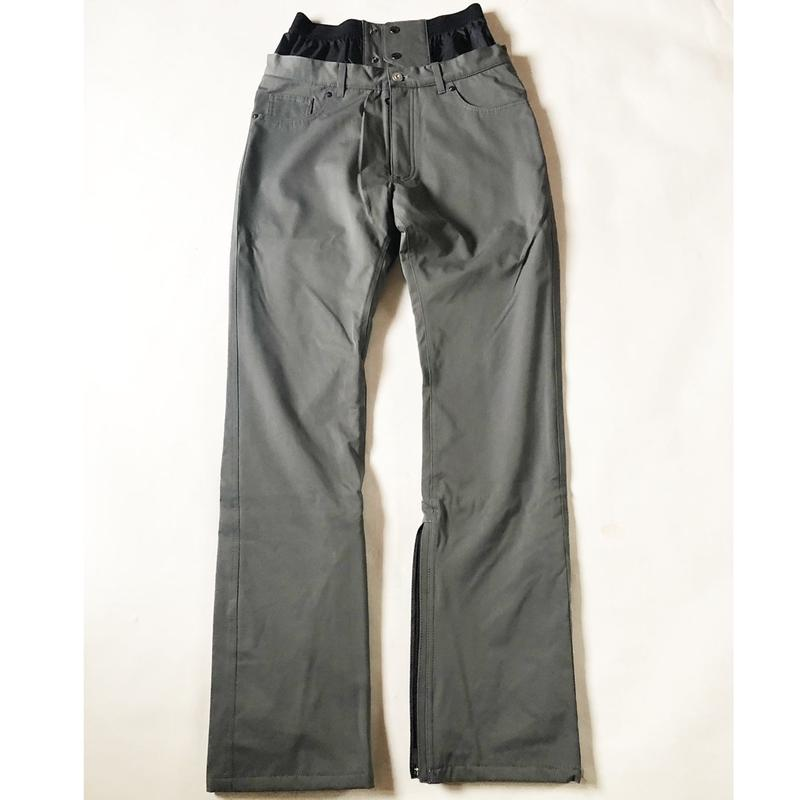 SP-design 細目綺麗なシルエットのTapered 2WAY Pants