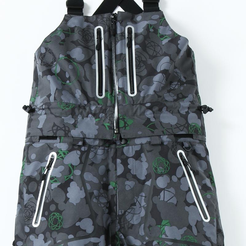 U.N.K.L.Eカモ×SP-design 名品2WAY Bib Pants(GORE-TEX)Sサイズ& Mサイズ