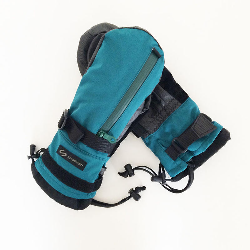 2WAYストレッチ PERFECTION MITT GLOVE ST-BLUEGREEN