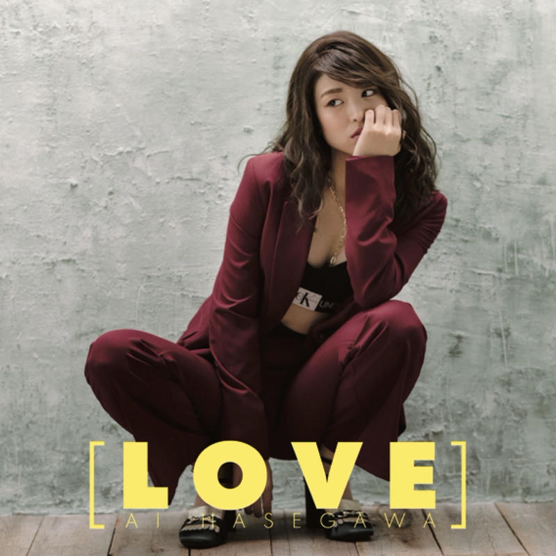 AI HASEGAWA 1stアルバム「LOVE」TypeB