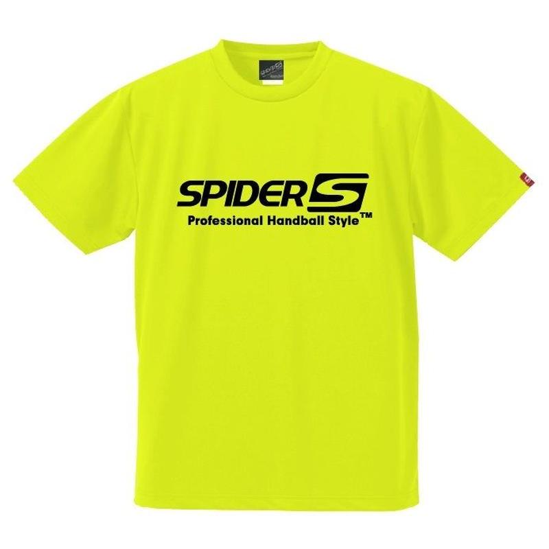 スパイダーハンドボールTシャツSP-SPRT01NYB/ネオンイエロー