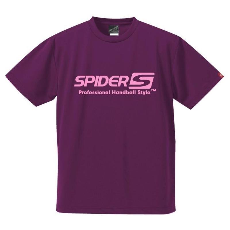 スパイダーハンドボールTシャツSP-SPRT01PP/パープル