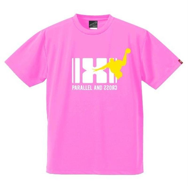 パラクロハンドボールTシャツ PCTS-03/ネオンピンク
