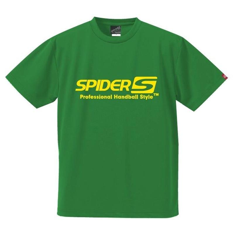 スパイダーハンドボールTシャツSP-SPRT01GY/グリーン
