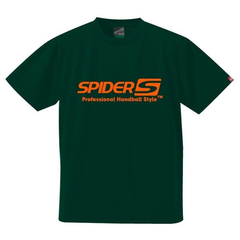 スパイダーハンドボールTシャツSP-SPRT01IGO/アイビーグリーン