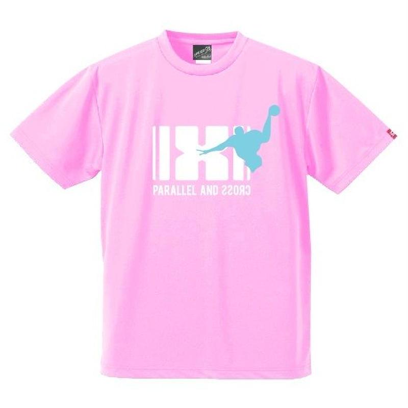 パラクロハンドボールTシャツ PCTS-03/ライトピンク