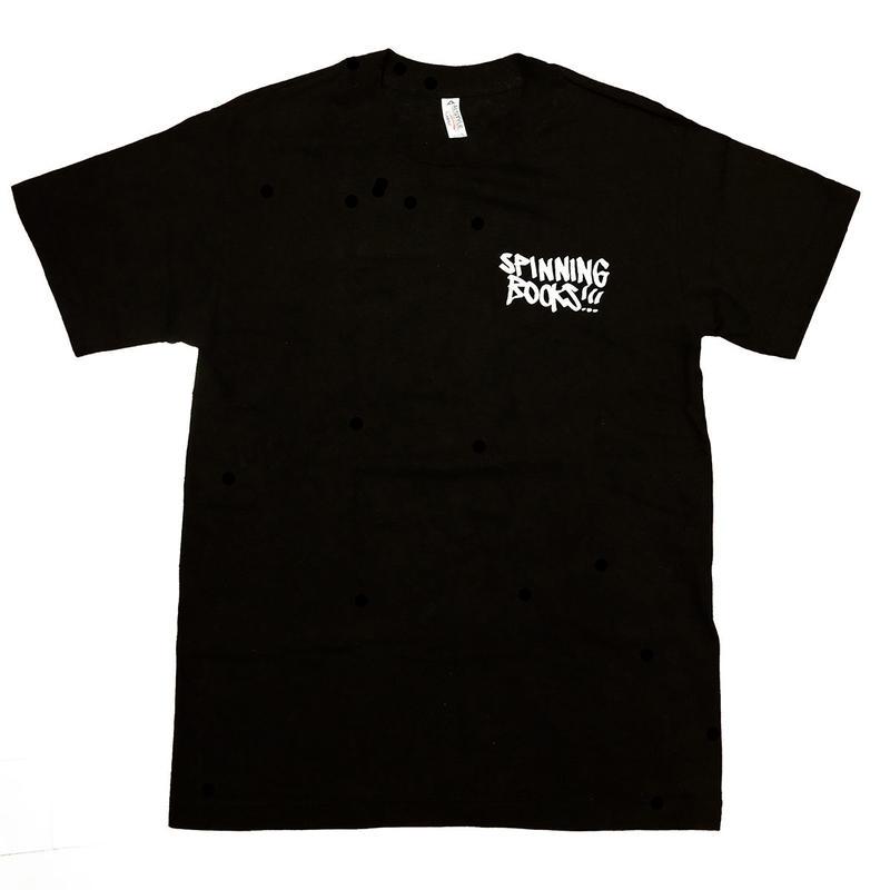 spinning books  Original T-Shirt / Black