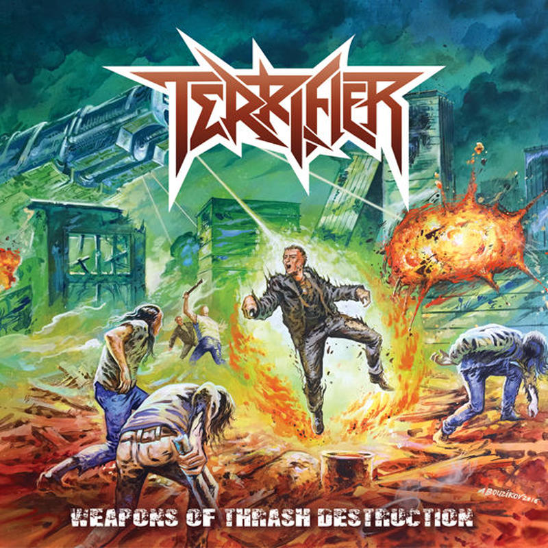 "TERRIFIER ""Wepons Of Thrash Destruction"" (Japan Edition + obi)"