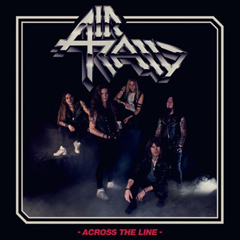 """AIR RAID """"Across The Line"""" (Japan Edition + obi)"""