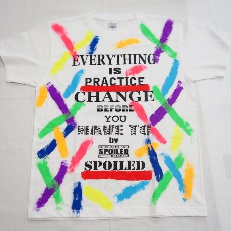 ★カラフルペイントTシャツ