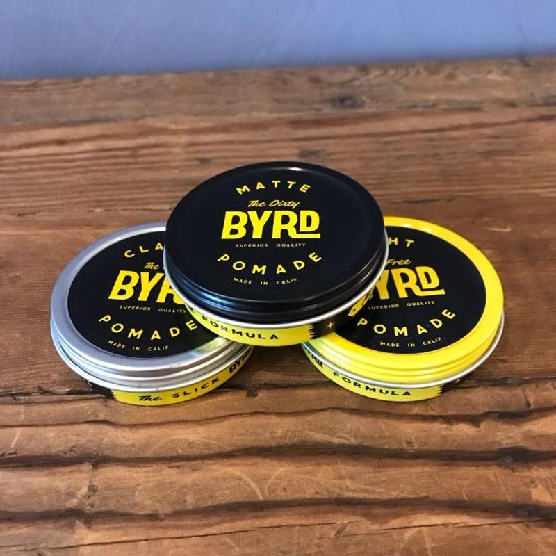 BYRD 3種類お試しポマード(マット・クラシック・ライト:42g)