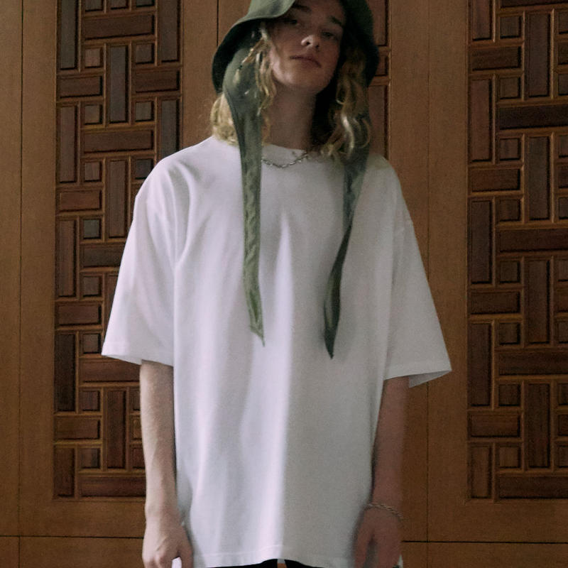OVER SIZED T-SHIRT【WHITE】 L220
