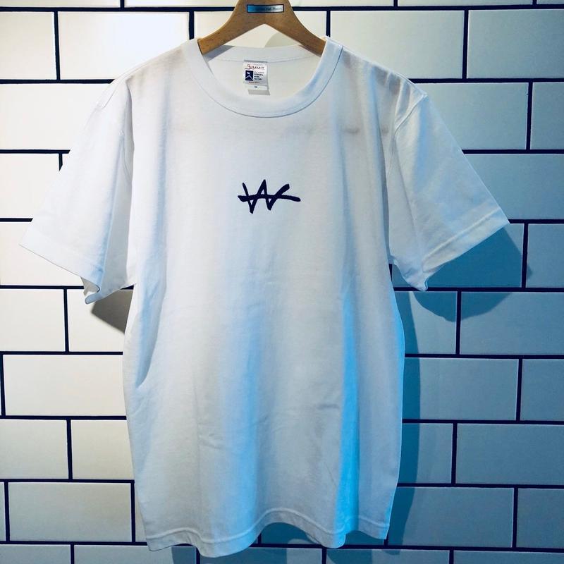 VaVa Logo刺繍 T-Shirts(White)
