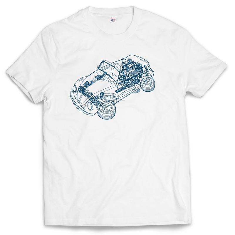 """PUNPEE """"Blue Print"""" T-Shirts"""