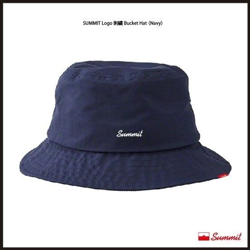 SUMMIT LOGO刺繍 Bucket Hat(NAVY)