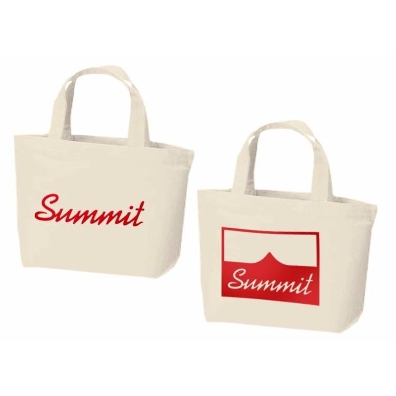 SUMMIT Logo Tote Bag Natural(S/S)