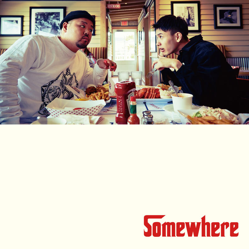 "C.O.S.A. × KID FRESINO ""Somewhere"" CD"