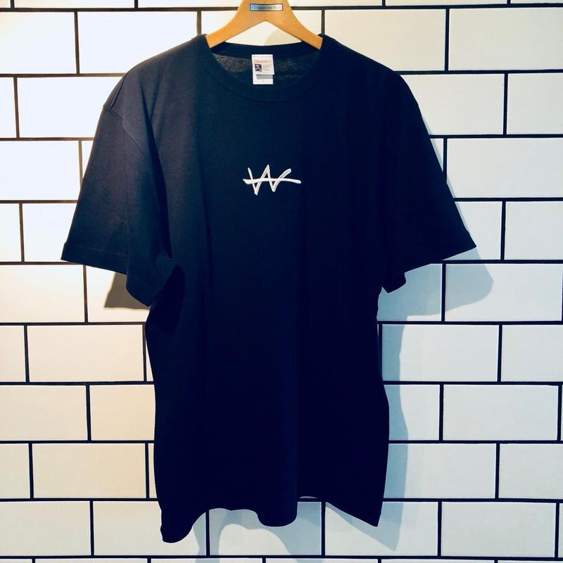 VaVa Logo刺繍 T-Shirts(Navy)