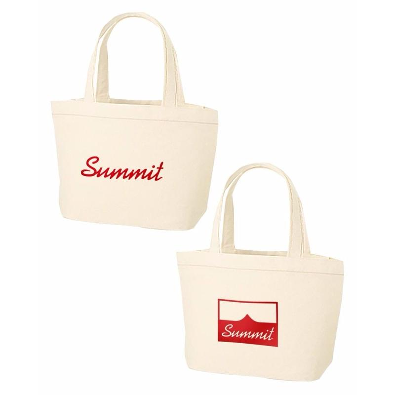 SUMMIT Logo Tote Bag Natural(S)
