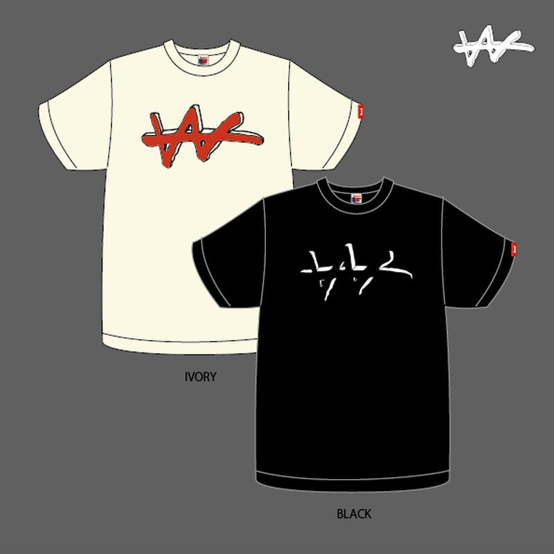 VaVa Logo T-Shirts(Ivory, Black)