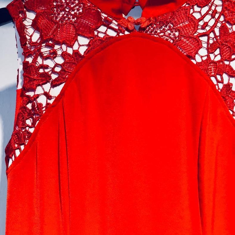 DRESS for YONG challenging new stage [RED]