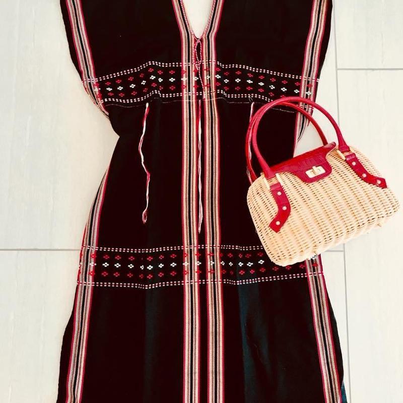 Oriental mood DRESS [BLACK:RED] THAILAND