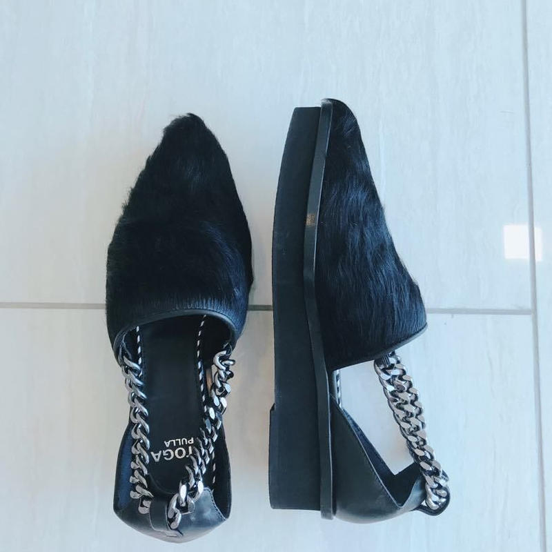 Fur Sandal[BLACK] Japan